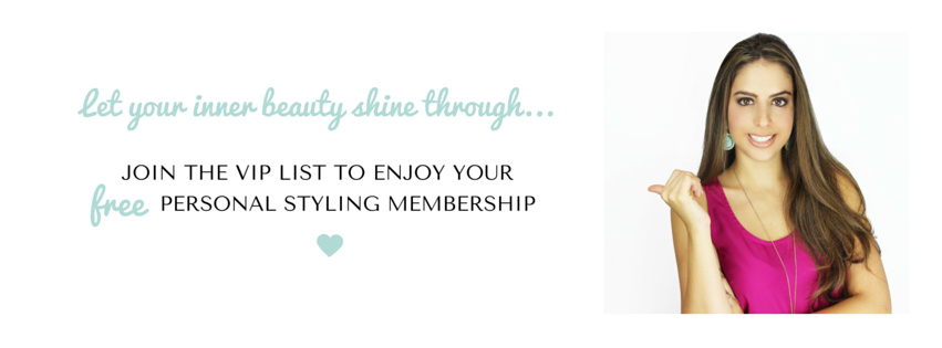 Vip List, your free personal styling membership