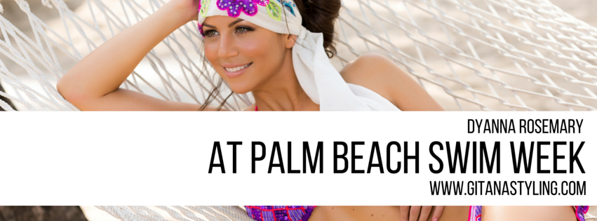 Dyanna Rosemary at Palm Beach Swim Week