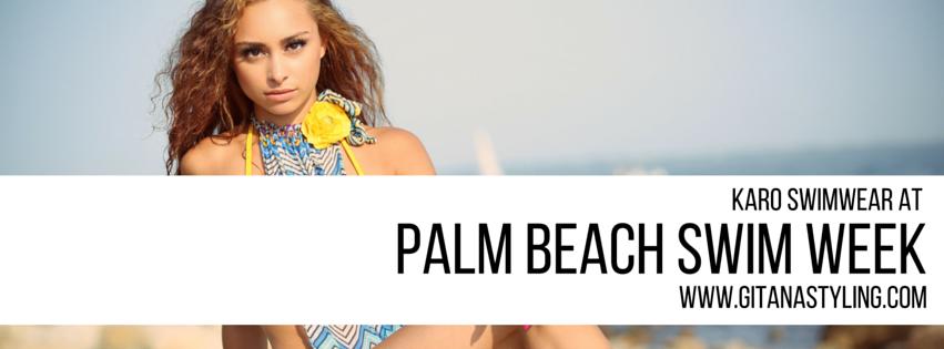 KARO Swimwear At Palm Beach Swim Week