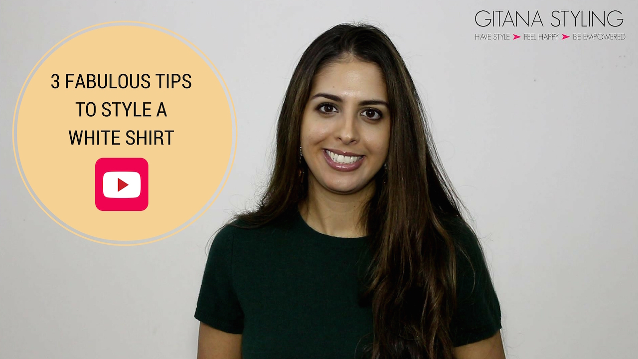 3 Fabulous Tips to Style a Classic White Shirt