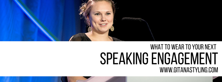 What To Wear To Your Next Speaking Engagement