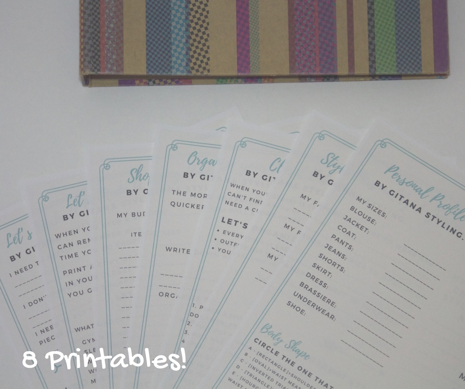 8 printables Style Binder by Gitana Styling
