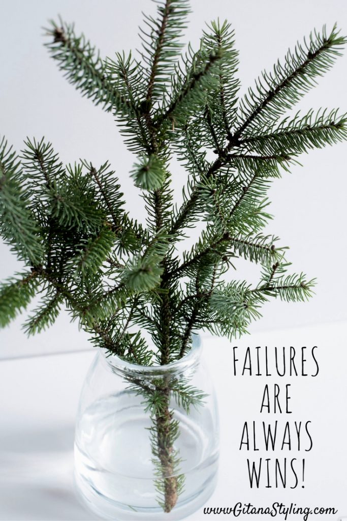Failures are always wins