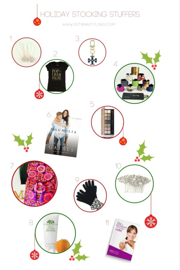 Holiday stocking stuffers ideas for Christmas