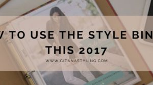 How to Use The Style Binder This 2017