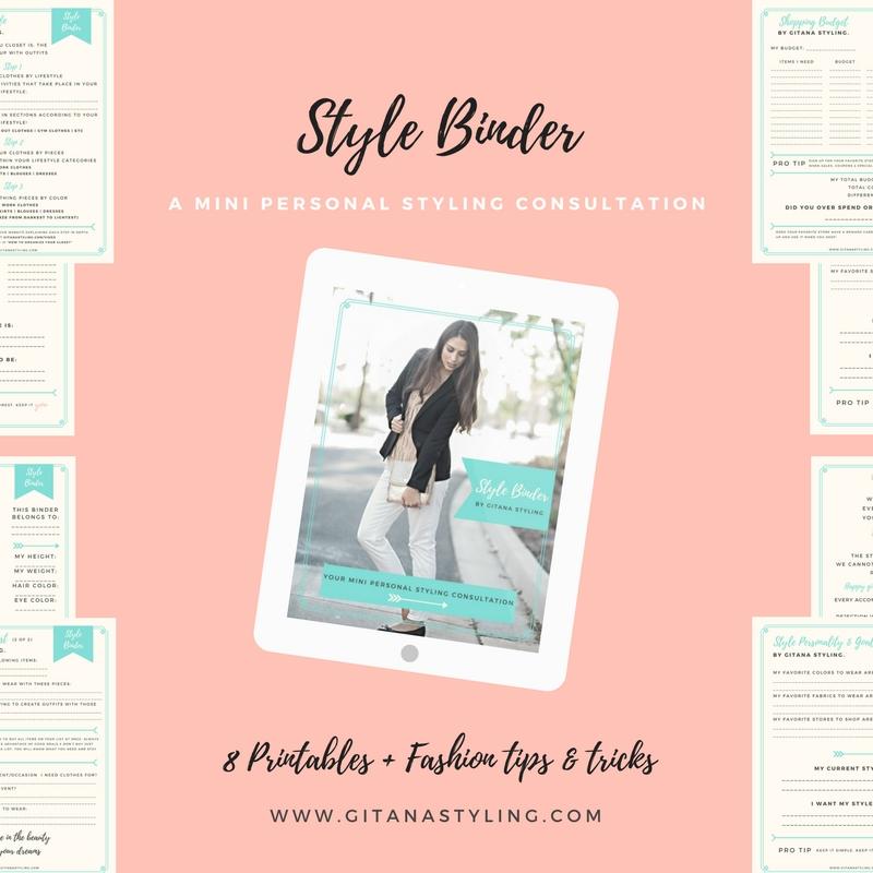 Style Binder by Gitana Styling