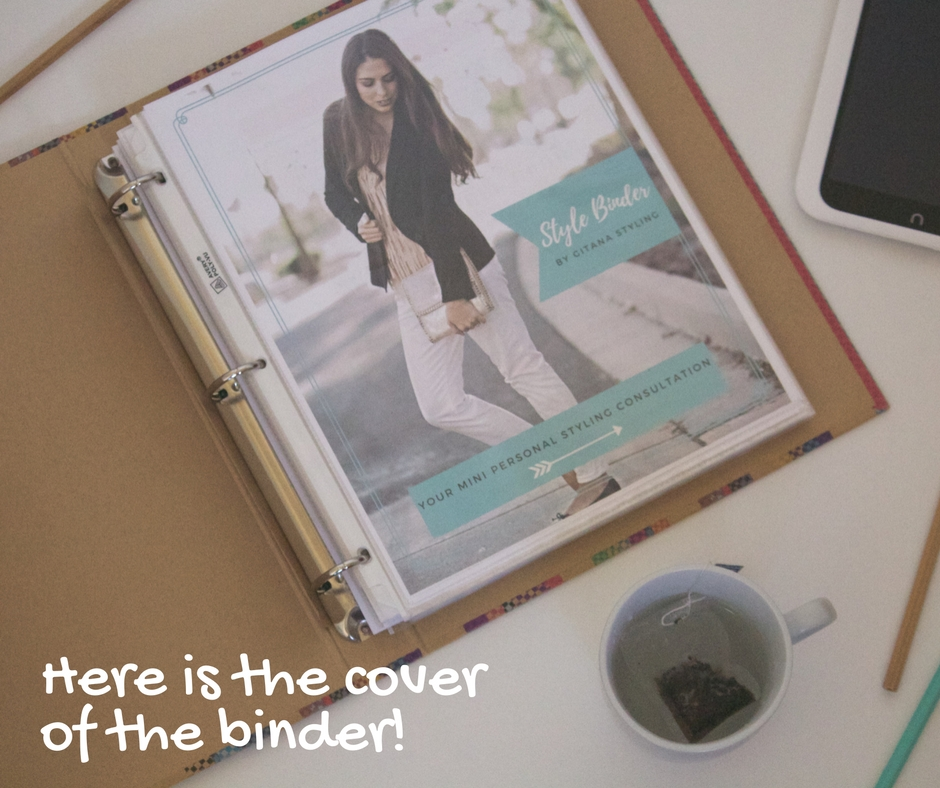Style Binder cover by Gitana Styling