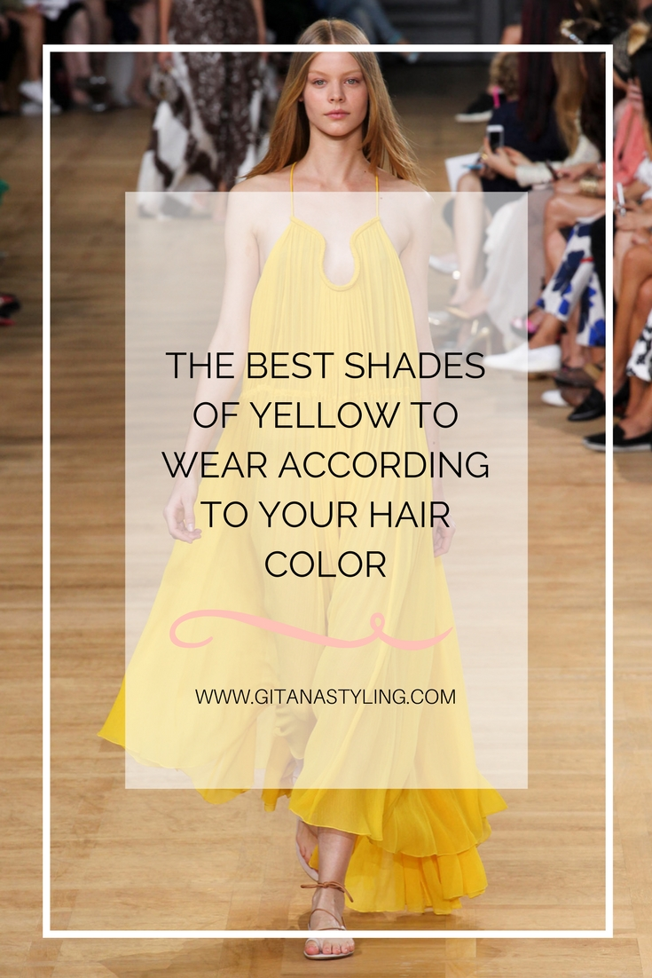 Best shades of yellow