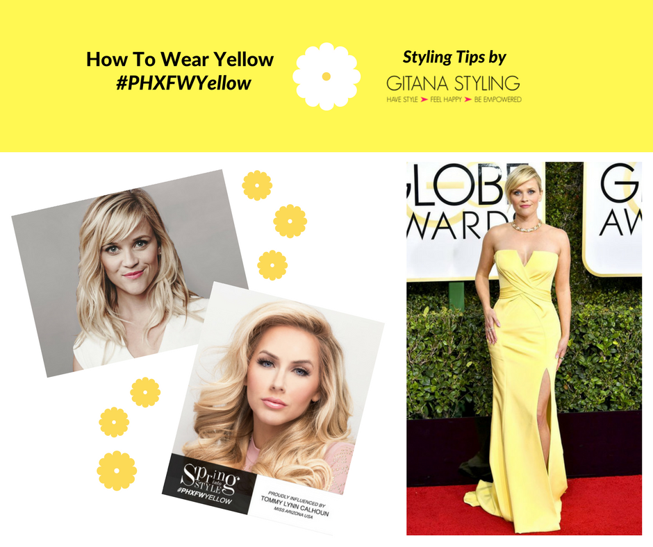 How to wear yellow if you are a blonde
