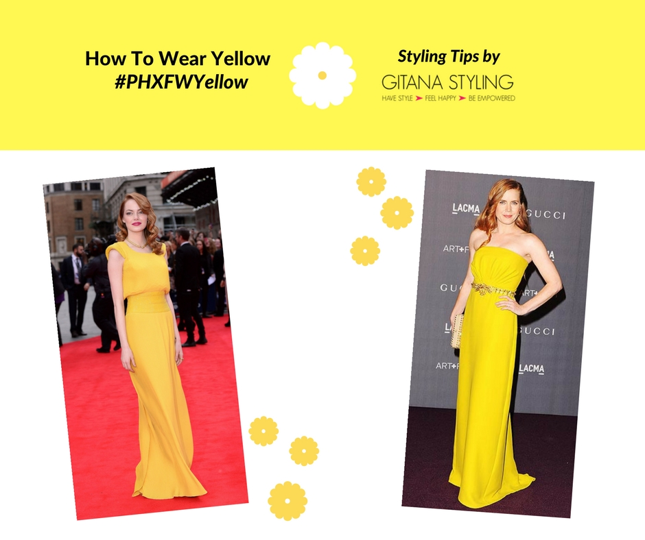 How to wear yellow redheads
