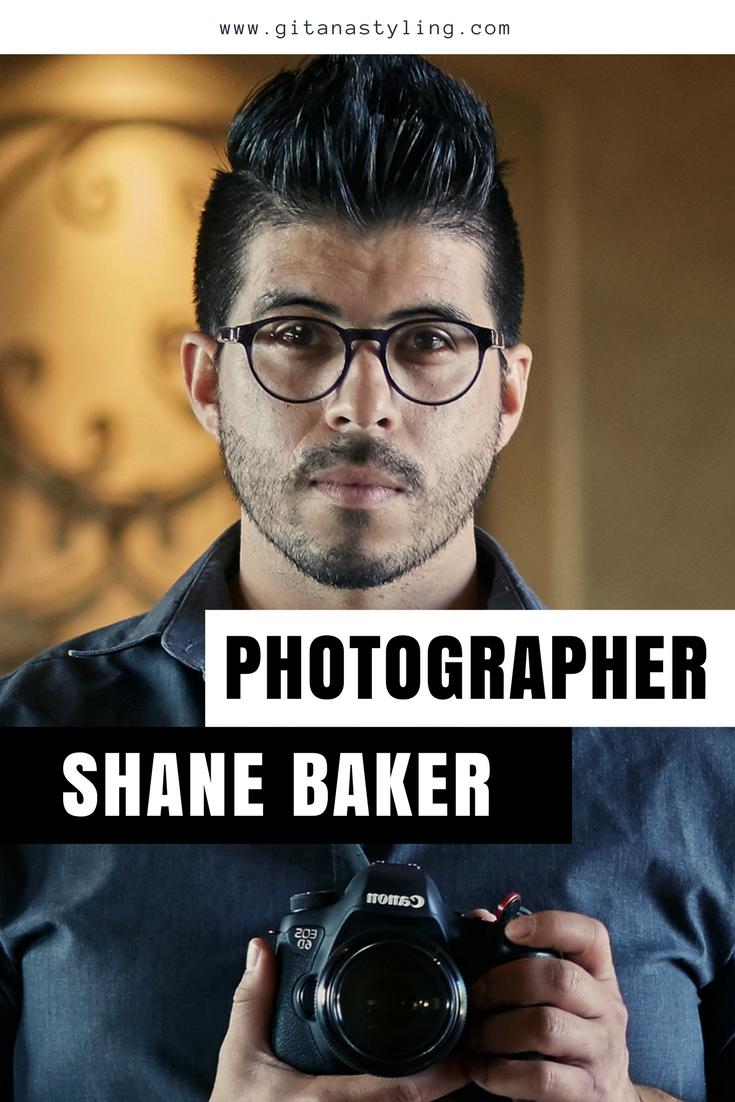 Photographer Shane Baker
