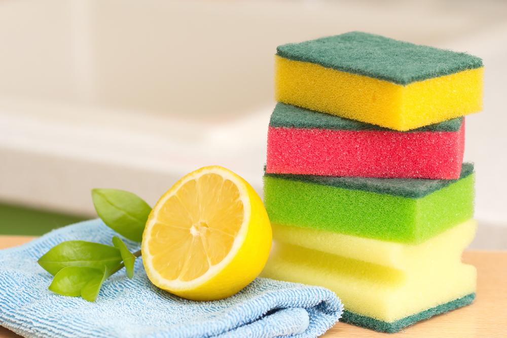 lemon spring cleaning