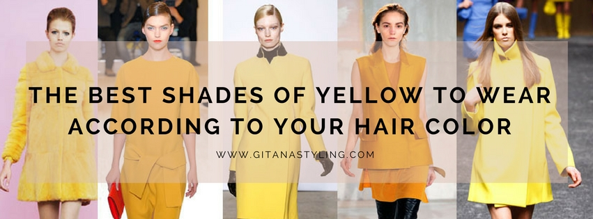shades of yellow and hair