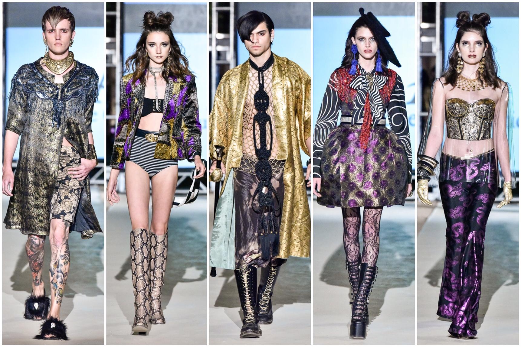 Fashion Strip Mixed Prints