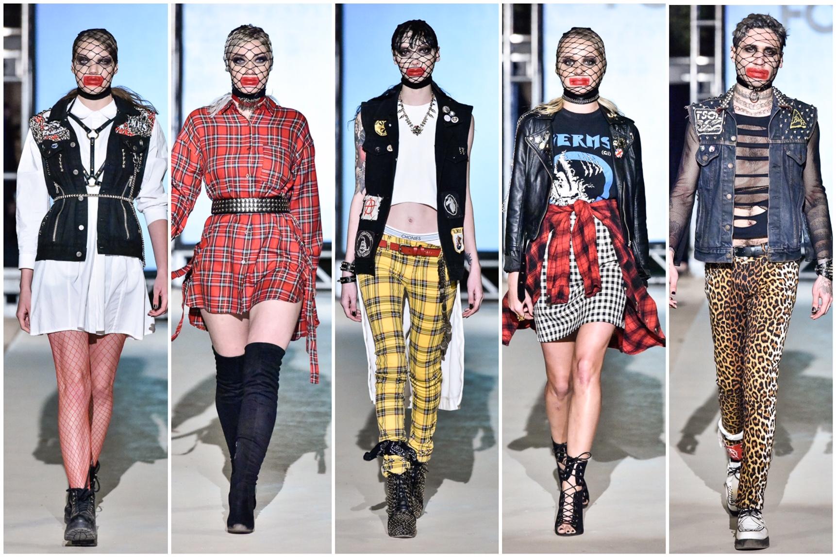 Fashion Strip Punk