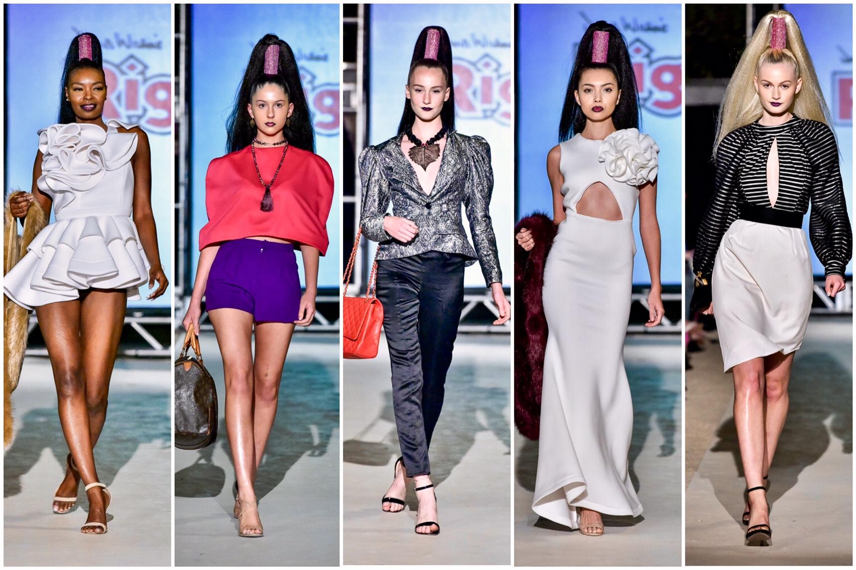 Fashion Strip Statement Sleeves