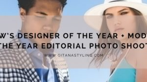 PHXFW's Designer of the Year + Model of the Year Editorial Photo Shoot