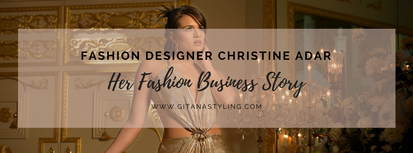 Her fashion business story Christine Adar