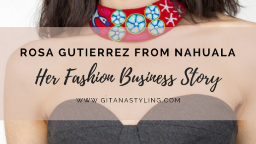 Rosa Gutierrez from Nahuala… Her Fashion Business Story