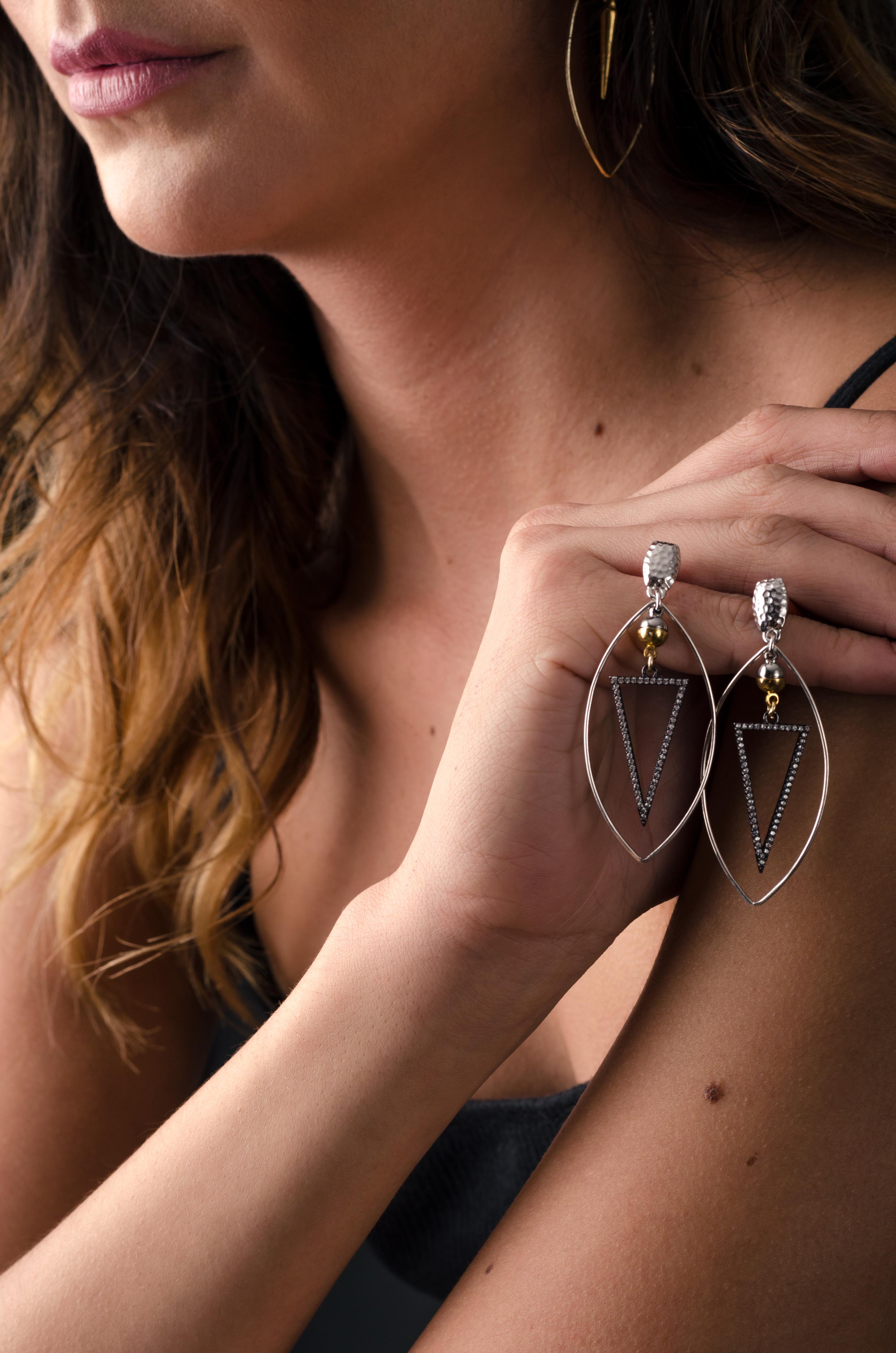 Tagliente earrings