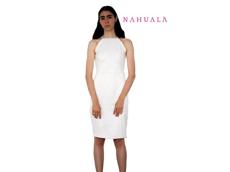 Nahuala white dress